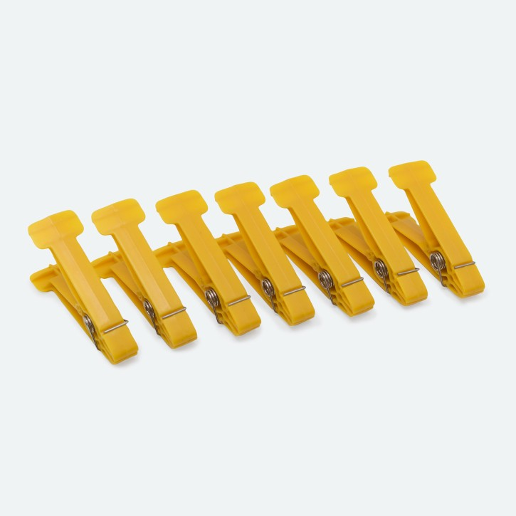 Ersatzklammern für Original Rolyan® Graded Pinch Exerciser | 7 Stück | 0,45 kg | gelb