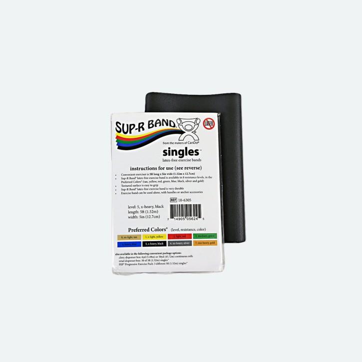 Sup-R Band®   Latex-frei   1,5 m   x-heavy   schwarz