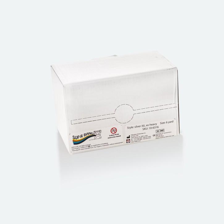 Sup-R Band® | Latex-frei | 5,49 m | xx-heavy | silber