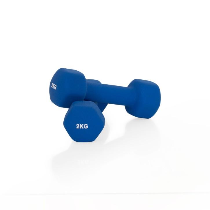 Gymnastikhanteln Neopren | 2 Stück | verschiedene Gewichte