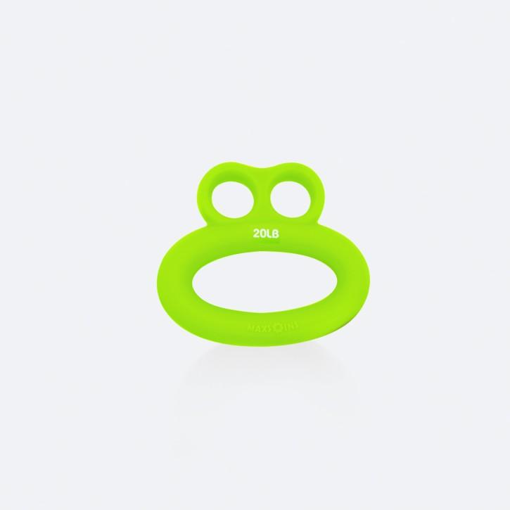 Hand- und Finger Trainer   Smiley   leicht   grün