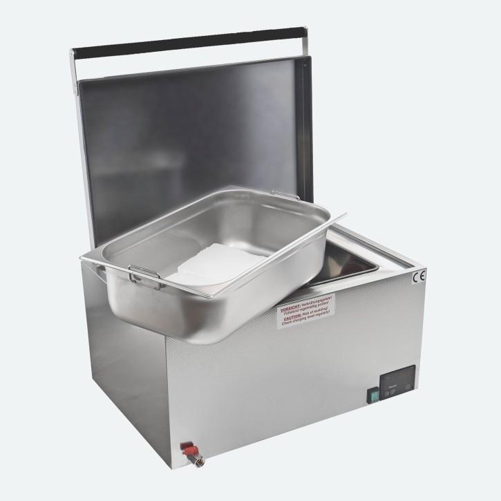 Heuser Paraffinbad | Paraffincontainer 20 Liter | schwarz