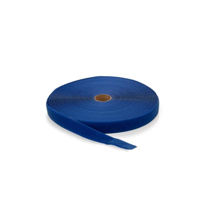 Flauschband | Breite: 38mm | Länge: 25m | blau