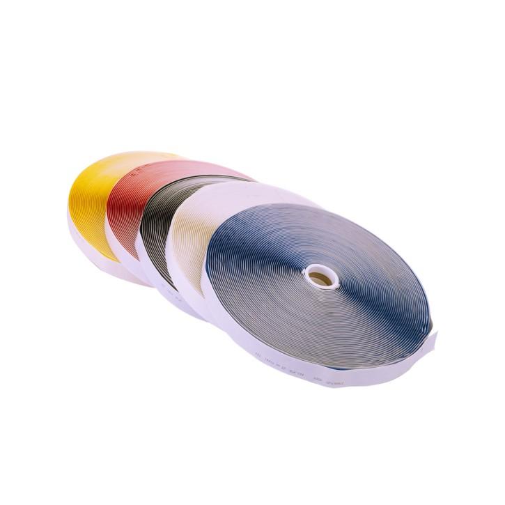 Highend-Haken-Klettband | selbstklebend | Breite: 25mm | Länge: 25m