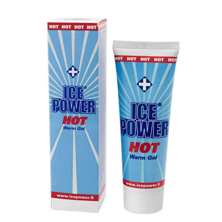 Ice Power HOT Warm Gel | 75 ml | MHD erreicht!