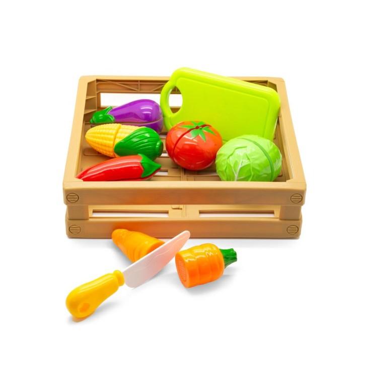 Kids Schneideset Lernbox   Gemüse