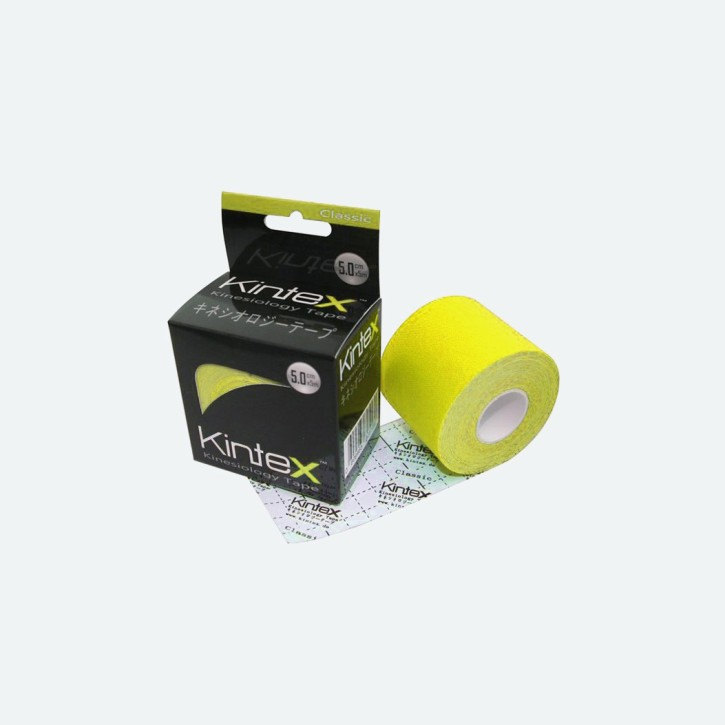Kintex Kinesiologie Tape   Classic   gelb