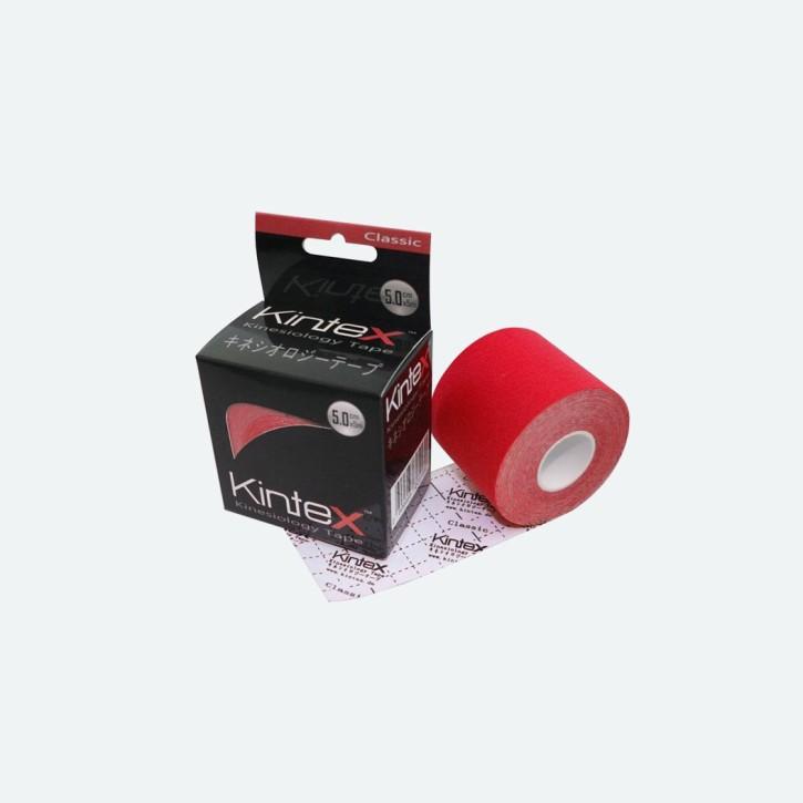 Kintex Kinesiologie Tape   Classic   rot