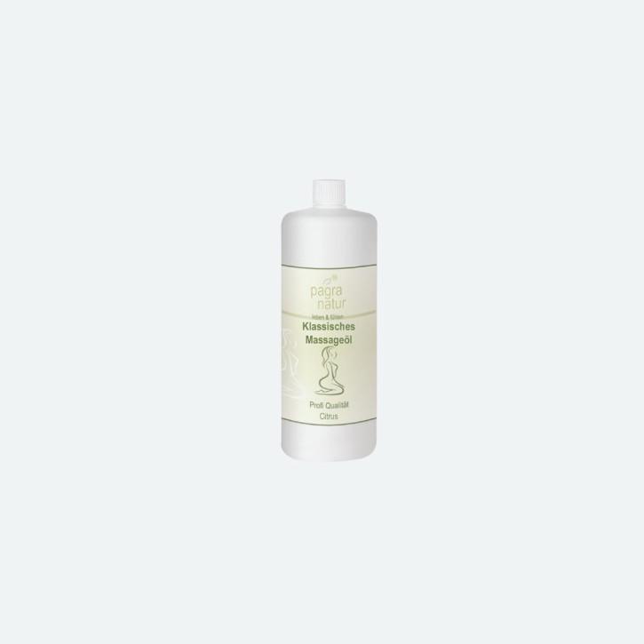 pagra natur Klassisches Massageöl | citrus | MHD erreicht