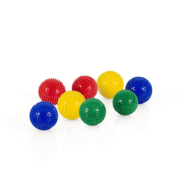Magnet Akupunktur Massage Kugeln | 4x2er Pack | Grün + Rot + Gelb + Blau | Größenauswahl