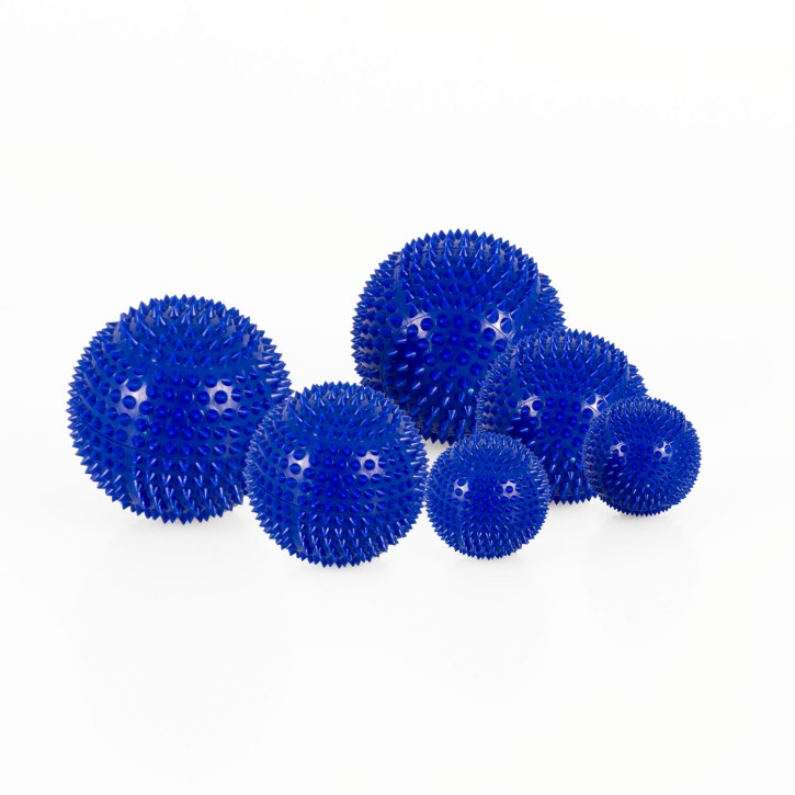 Magnet Akupunktur Massage Kugeln | 3 x 2er Set (3 Größen) | blau