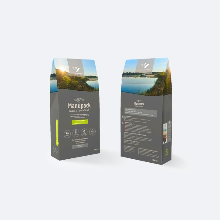 Manupack | Hand-Moorpackung zum Kneten | 1,5 kg