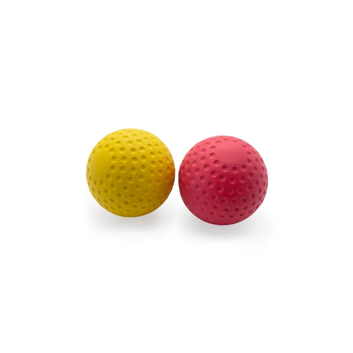 Lacrosse Ball | Mini Massage Ball | Fitnessball | 2er Set | medium, strong