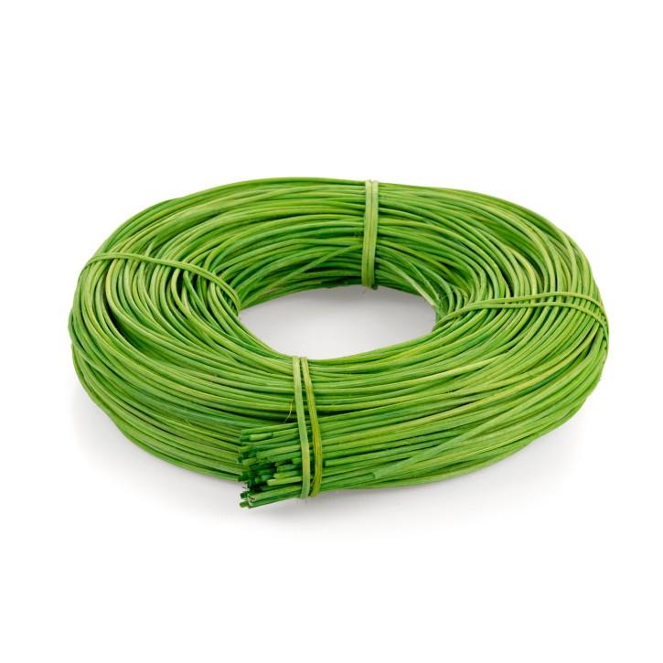 Peddigrohr 2,25 mm | grün | 500 g