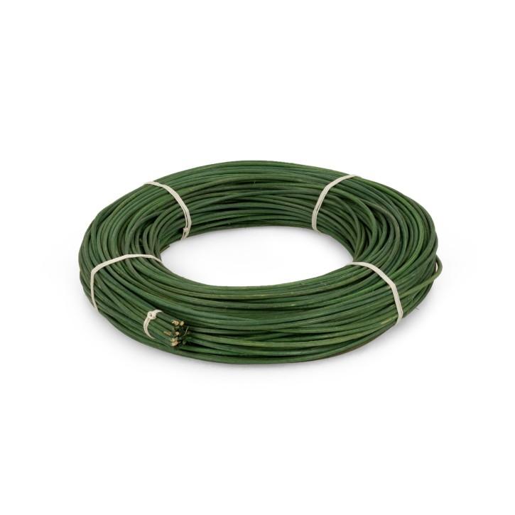 Peddigrohr 2,0 mm   dunkelgrün