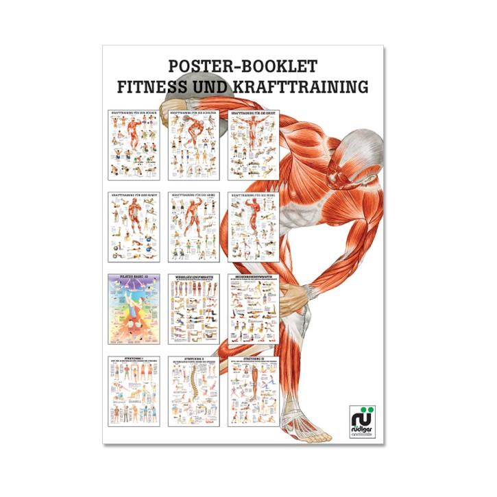 Poster Booklet | Fitness- und Krafttraining | Rüdiger Anatomie