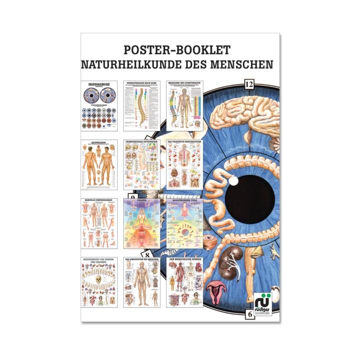 Poster Booklet   Naturheilkunde des Menschen   Rüdiger Anatomie