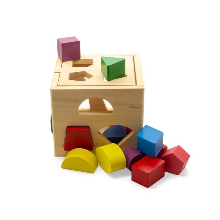 Puzzlebox Geo mit geometrischen Formen