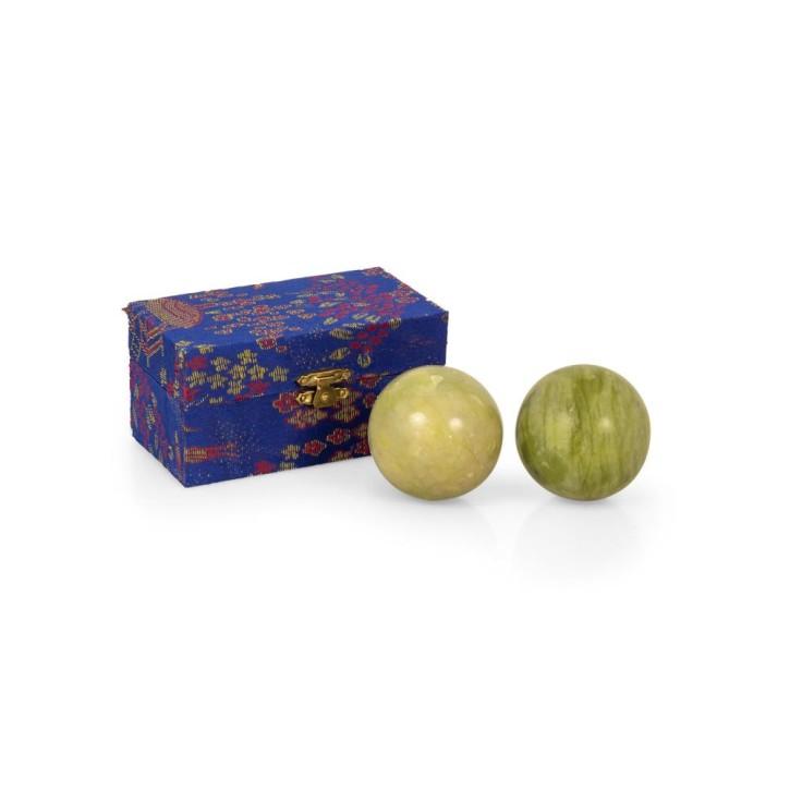 Mängelexemplare: QiGong Kugeln | Stein | klein=Øca.35mm-45mm