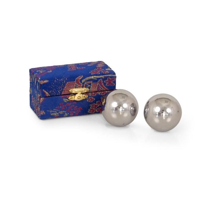 Mängelexemplar: QiGong Kugeln | Metall | mittel=Ø35mm-45mm
