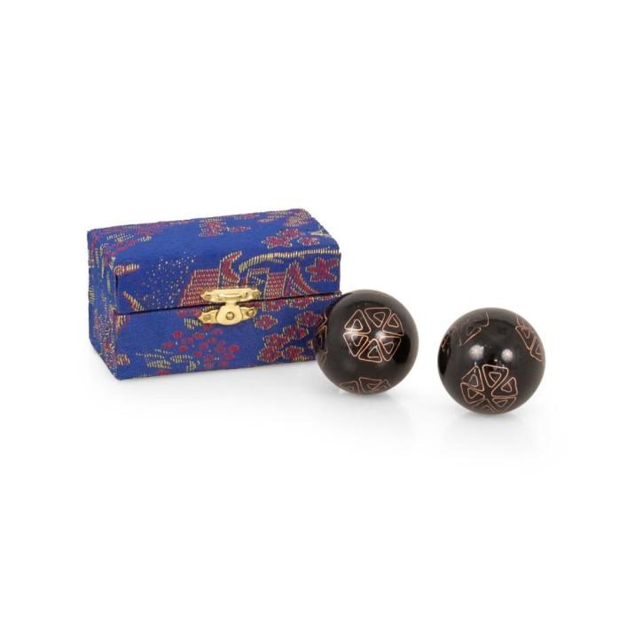 Mängelexemplare: QiGong Kugeln | Emaille Klangkugeln | mittel = Øca.35mm-40mm