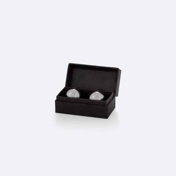 Mängelexemplar: QiGong Kugeln | Metall silber | Ø 25 mm