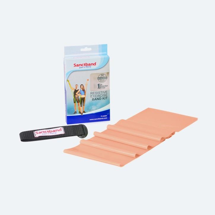 Sanctband 2m-Set | inkl. Türanker | extra leicht | pfirsich