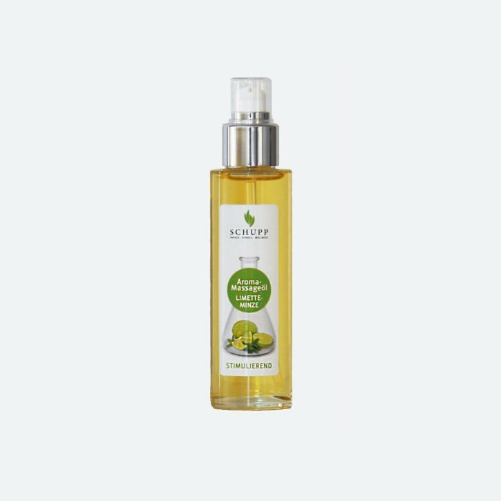 Schupp Aroma Massage-Öl | Limette-Minze | 100 ml