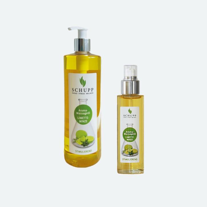 Schupp Aroma Massage-Öl | Limette-Minze