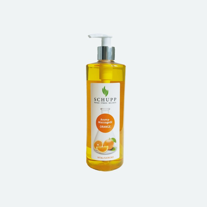 Schupp Aroma Massage-Öl | Orange | 500 ml