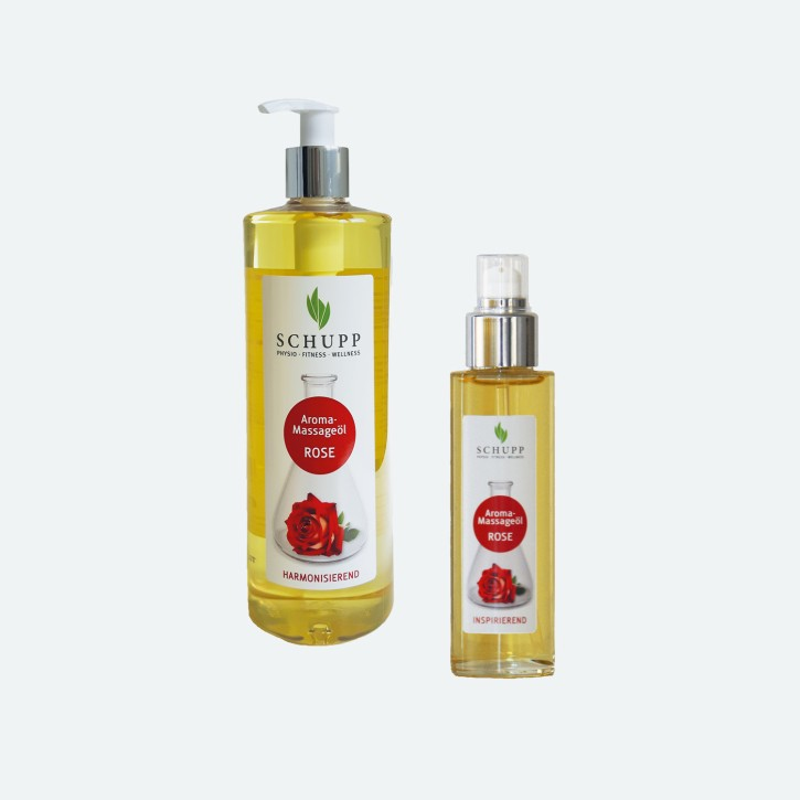 Schupp Aroma Massage-Öl | Rose