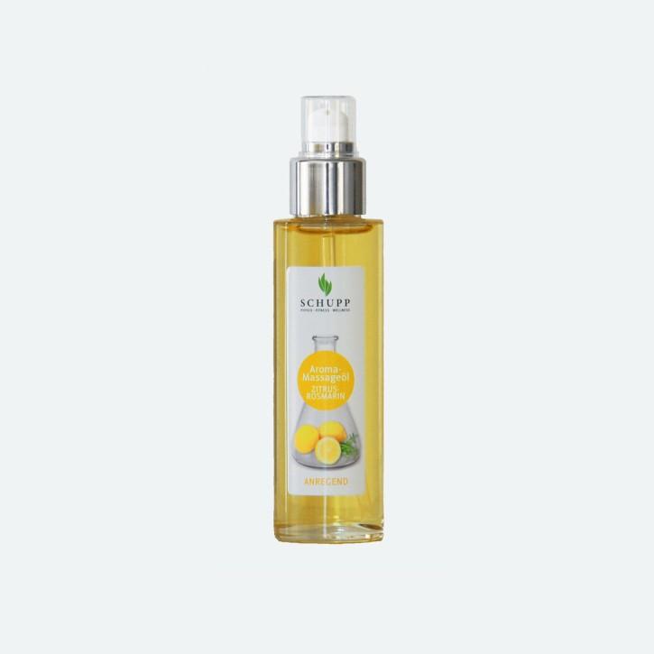 Schupp Aroma Massage-Öl | Zitrus-Rosmarin | 100 ml