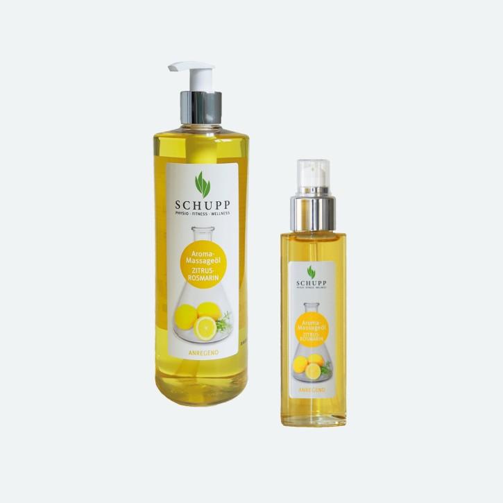 Schupp Aroma Massage-Öl | Zitrus-Rosmarin