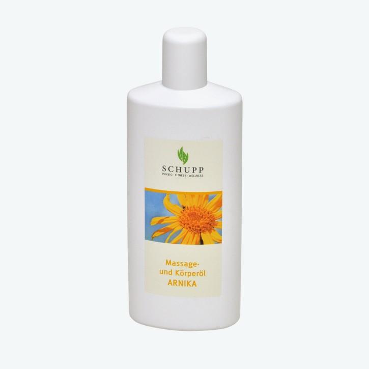 Schupp Massage und Körperöl | Arnika | 1000 ml