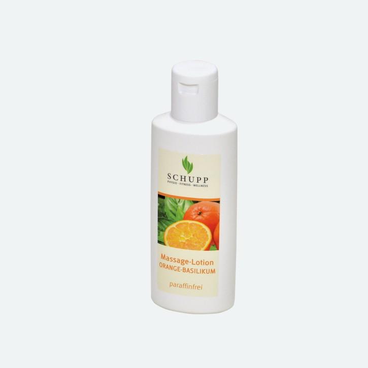 Schupp Massage-Lotion   Orange-Basilikum   200 ml