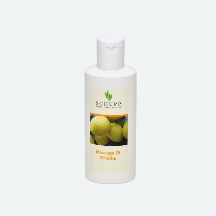 Schupp Massage-Öl | Zitrone | 200 ml