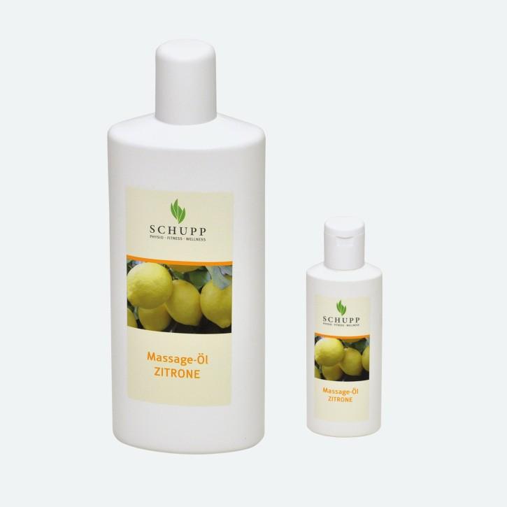 Schupp Massage-Öl | Zitrone
