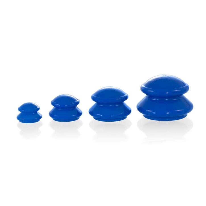 Silikon Schröpfset | Gummi Sauger | 4 teilig