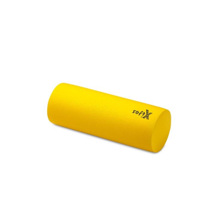 softX® Lagerungsrolle rund | mit Coating | Ø 15,0 cm | gelb