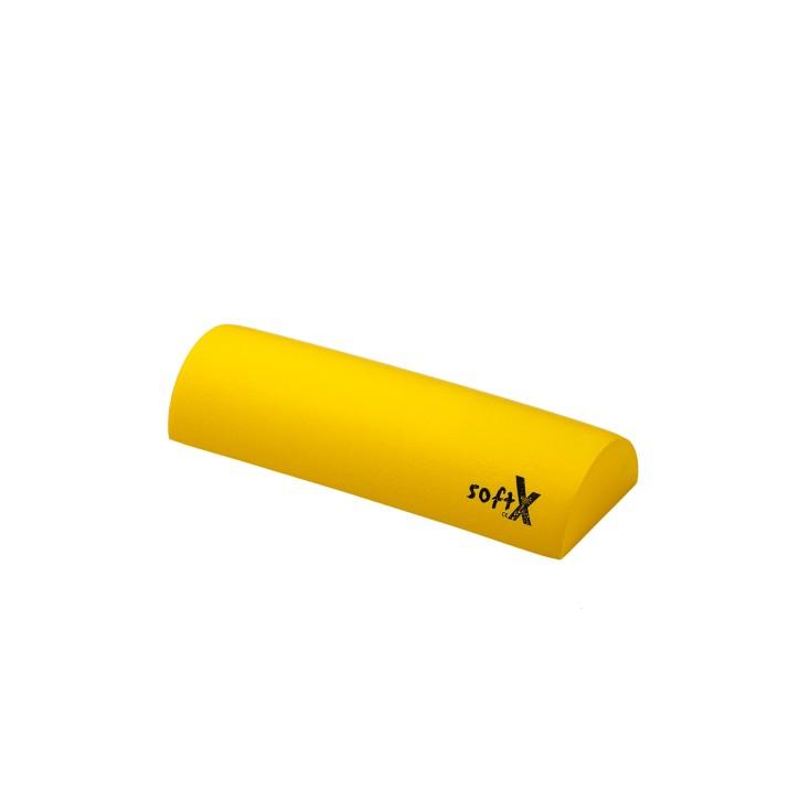 softX® Lagerungsrolle halbrund | mit Coating | Ø 15,0 cm | gelb