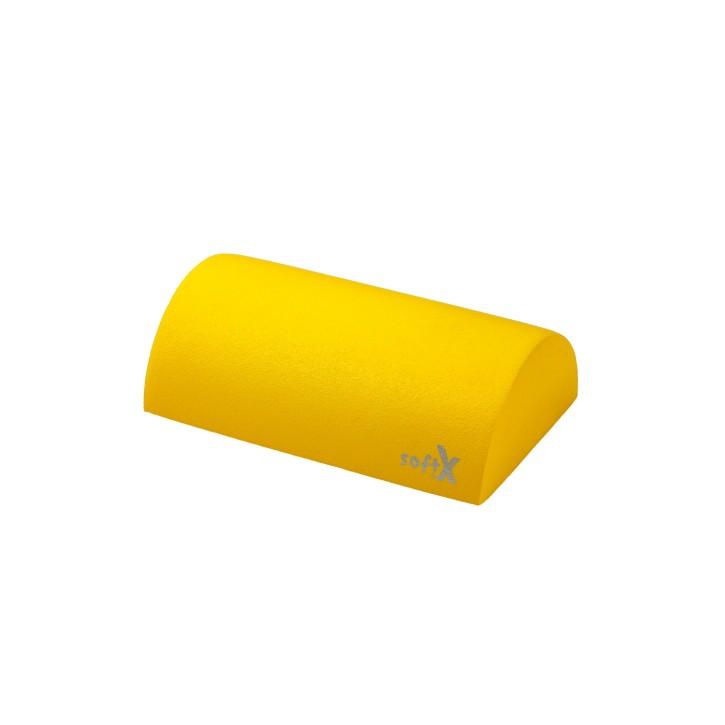 softX® Lagerungsrolle halbrund   mit Coating   Ø 25,0 cm   gelb