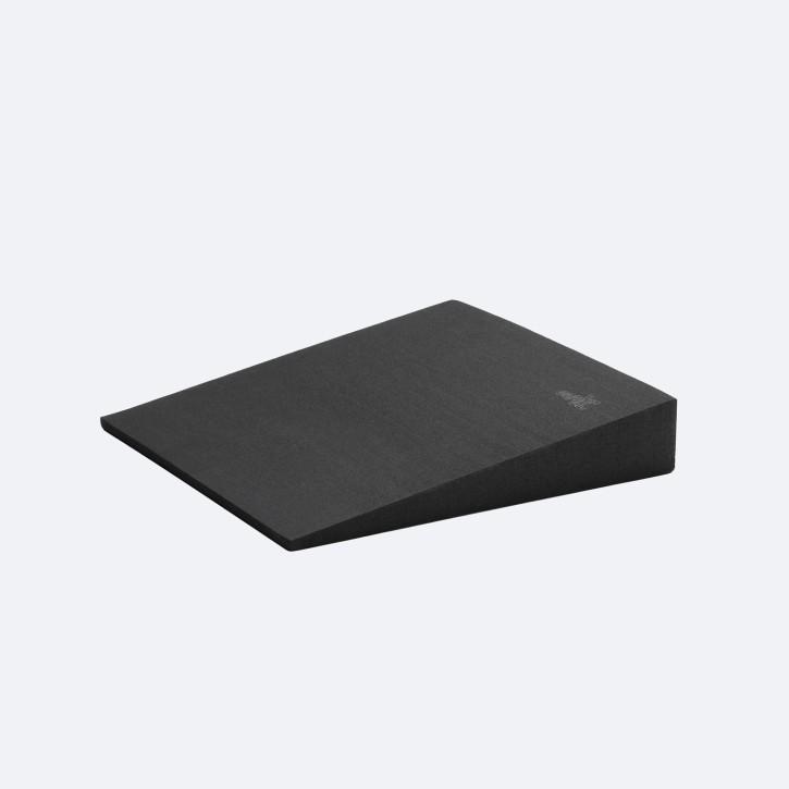 softX® Sitzkeilkissen | eckig | schwarz