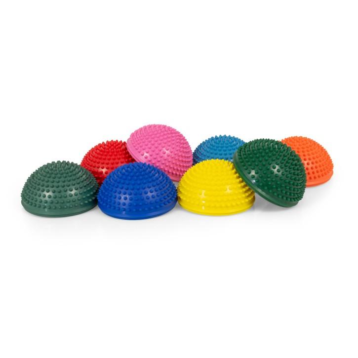 TheraPIE Balance Igel | Gymnastik Igel | Igelball | Ø 16 cm | 8er Set + Pumpe