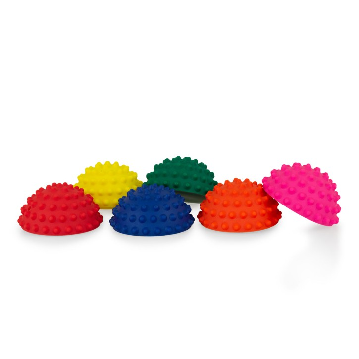 TheraPIE Balance Igel MINI | Gymnastik Igel MINI | Ø 9 cm | 6er Set