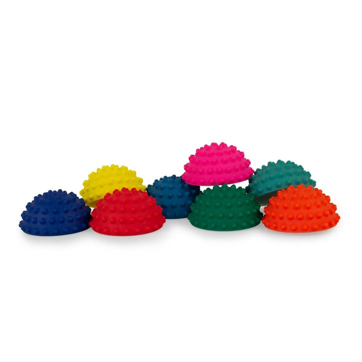 TheraPIE Balance Igel MINI | Gymnastik Igel MINI | Ø 9 cm | 8er Set