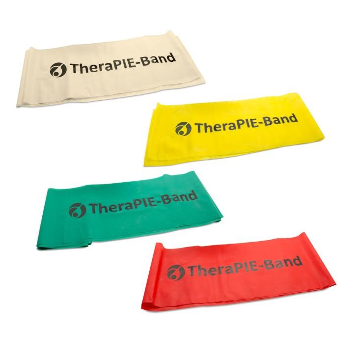 TheraPIE Band | Übungsband | 2,0m | Set 3 alle Stärken