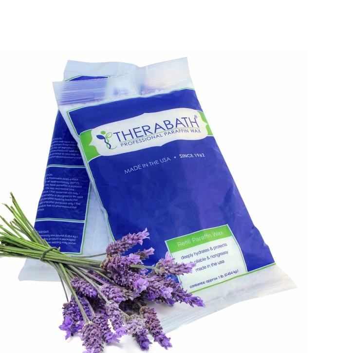 Therabath PRO Paraffin Wachs | Lavendel Harmonie | 6 Beutel à 454 g