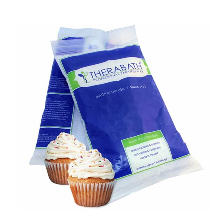 Therabath PRO Paraffin Wachs | Vanilla Cup Cake | 6 Beutel à 454 g