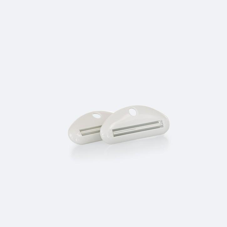Tubenausdrücker | Tube Master | 2 Stück | weiß