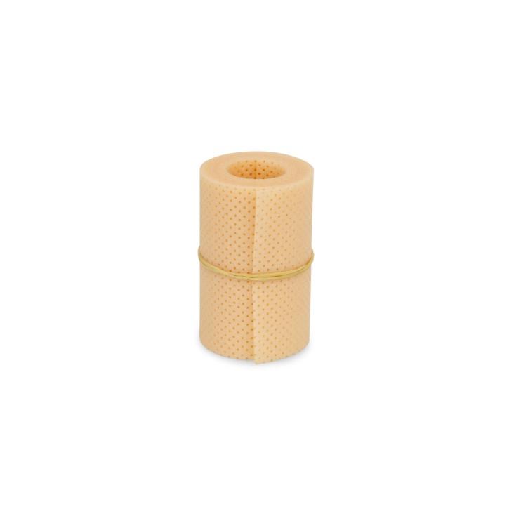 Thermoplastisches Schienenmaterial | Turbocast® Roll | Breite 7,5 cm | micro perforiert | 120 cm lang | beige